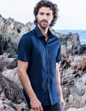 Men´s Poplin Shirt Short Sleeve