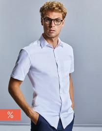 Men`s Short Sleeve Tailored Coolmax® Shirt