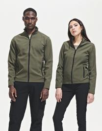 Women`s Softshell Zip Jacket Race