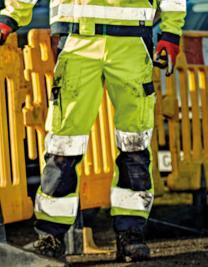Industry Warnschutz Bundhose EN 20471