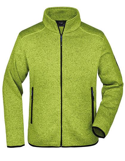 Men´s Knitted Fleece Jacket